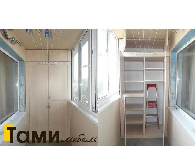 Идеи для балконов со шкафом фото
